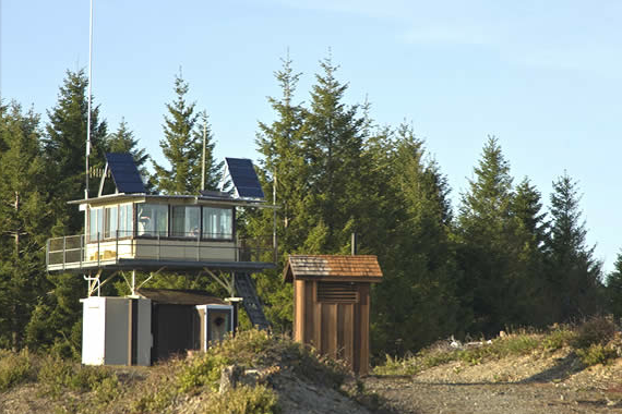 Us Forest Service Fire Lookouts And Guard Stations Camp