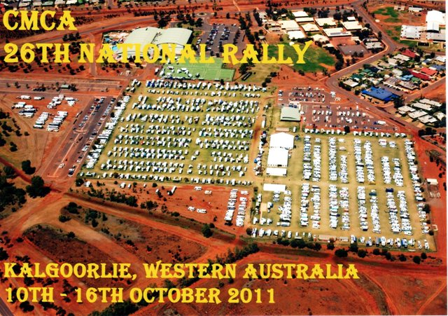 Gallivantour Kalgoorlie Rally 2011