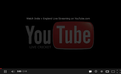 YouTube Live Cricket Streaming Video
