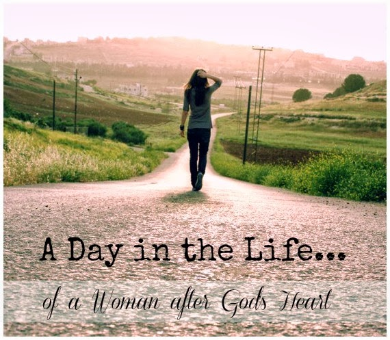 a day in the life - walking with God
