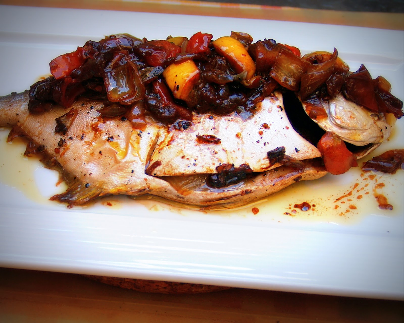 Skip to malou baked pompano in orange balsamic vinaigrette for Pompano fish recipe