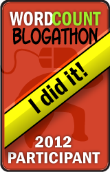 2012 WordCount Blogathon Award