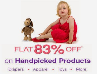 Firstcry : Flat 83% Off On Hand Picked Products