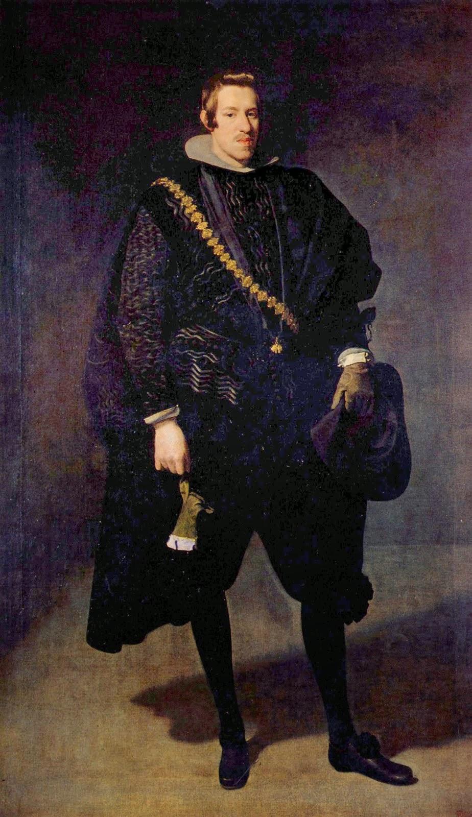 1622-1628: Velázquez es pintor de corte de Felipe IV
