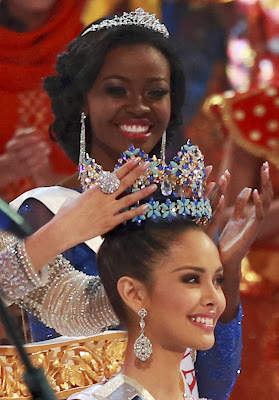 Megan Young - Miss World of 2013 - From Philippine - Indonesia Miss World 2013