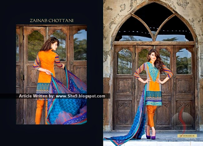 Zainab Chottani Designer Summer 2015