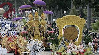Parade Bunga Mawar ke-124 di Pasadena