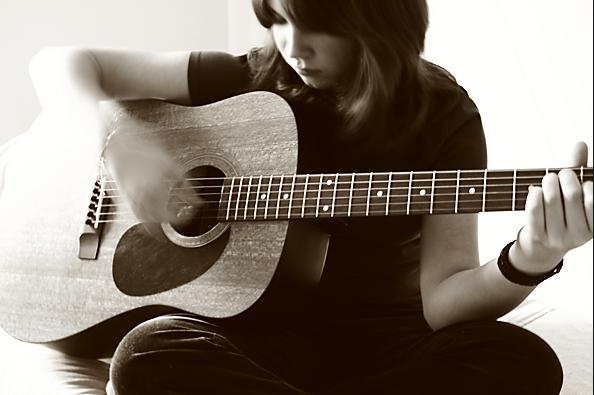 đệm hát guitar và kỹ thuật với tay phải 1