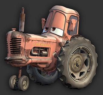 Cars traktor