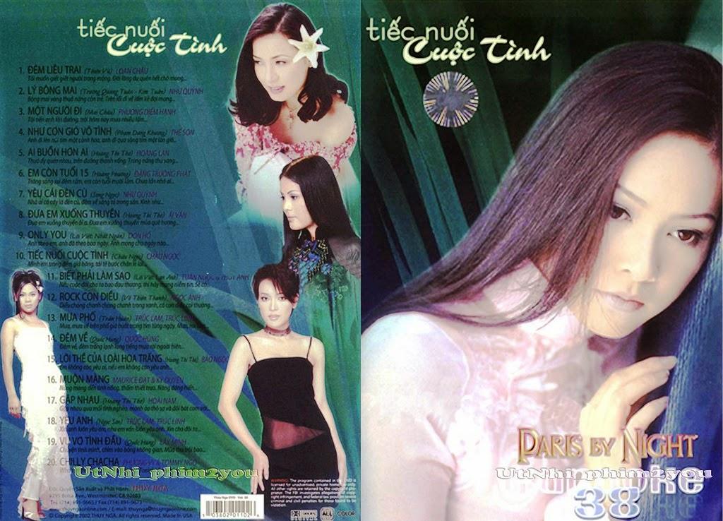 PBN Karaoke 38: Tiếc Nuối Cuộc Tình (DVD9)