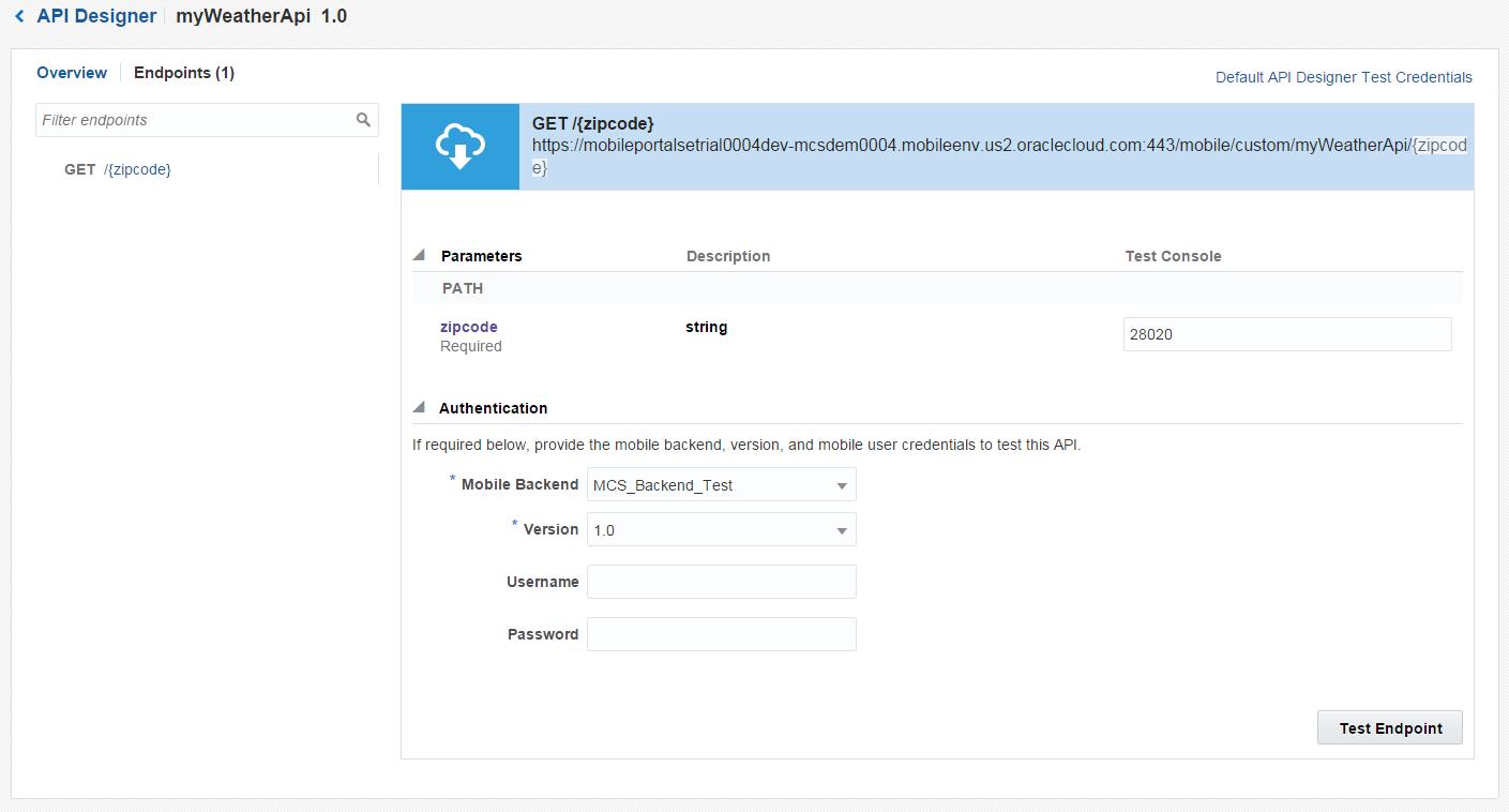 rsantrod's Blog: MCS: Custom API that calls a SOAP Web Service