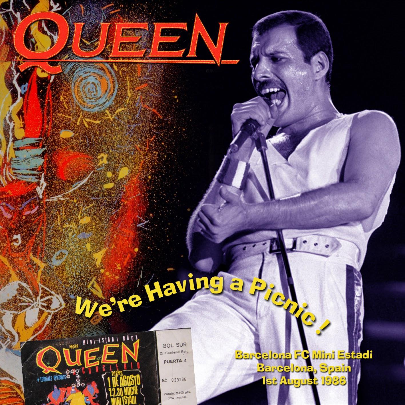 Queen - Barcelona 86