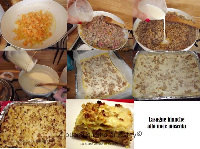La buona cucina di katty lasagne bianche alla noce moscata for A tavola con guy