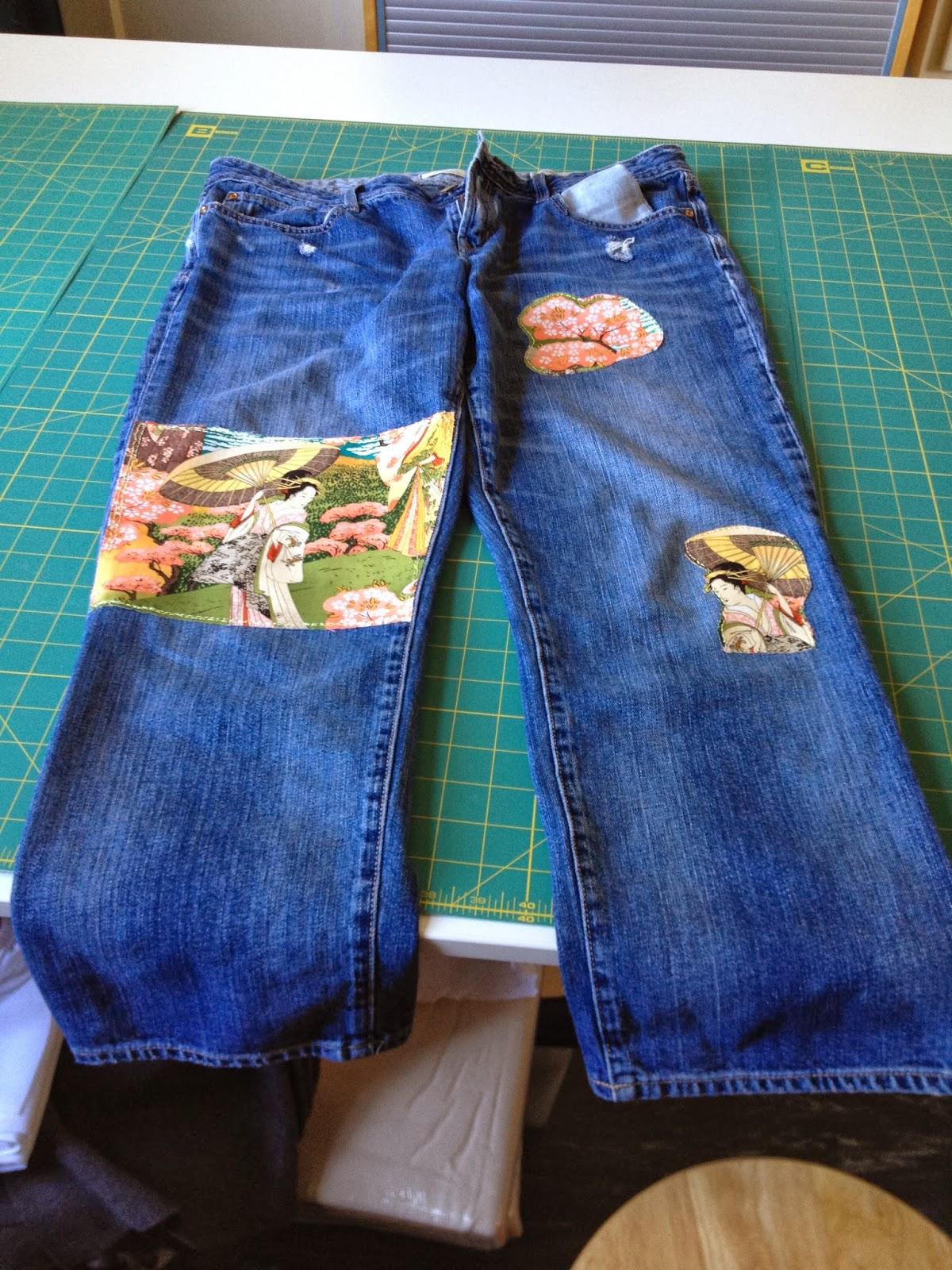 Как украсить джинсы (122 фото) 17