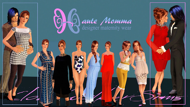 haute momma maternity wear by cloudwalker sims title=