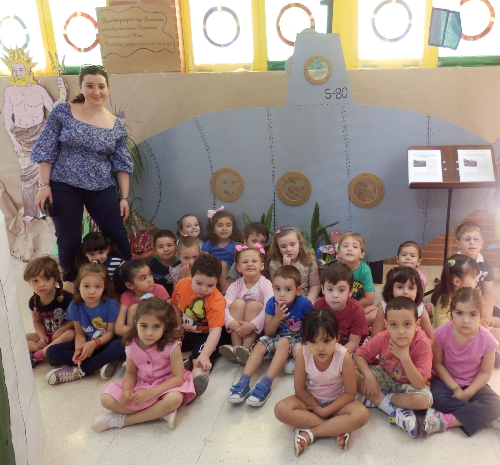 Luca y sus amigos visita al colegio ciudad jard n for Instituto ciudad jardin