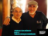 Con Carlos Rodríguez