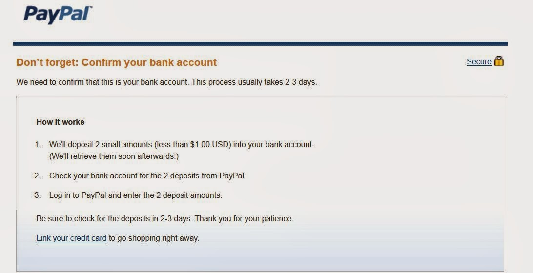 how to tell if paypal account is verified