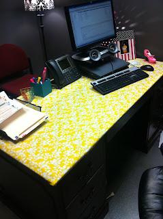 can i really diy diy desk cover