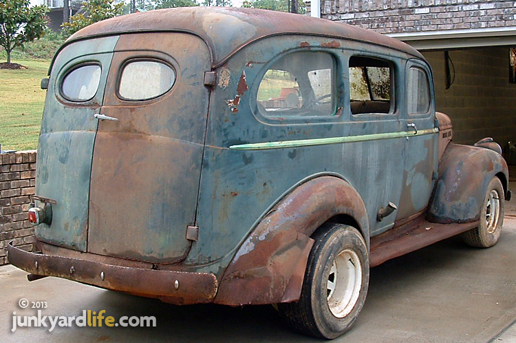 Barn Find 1941 Stovebolt Suburban Served As Funeral Home Flower Truck That Could Carryall