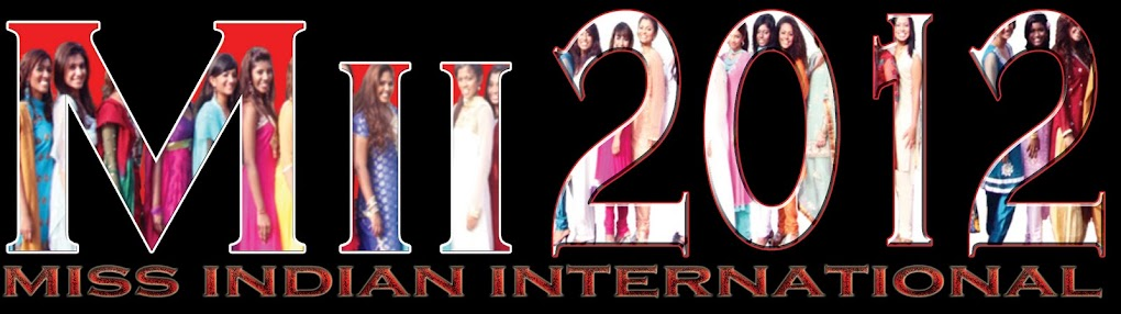 Miss Indian International 2012