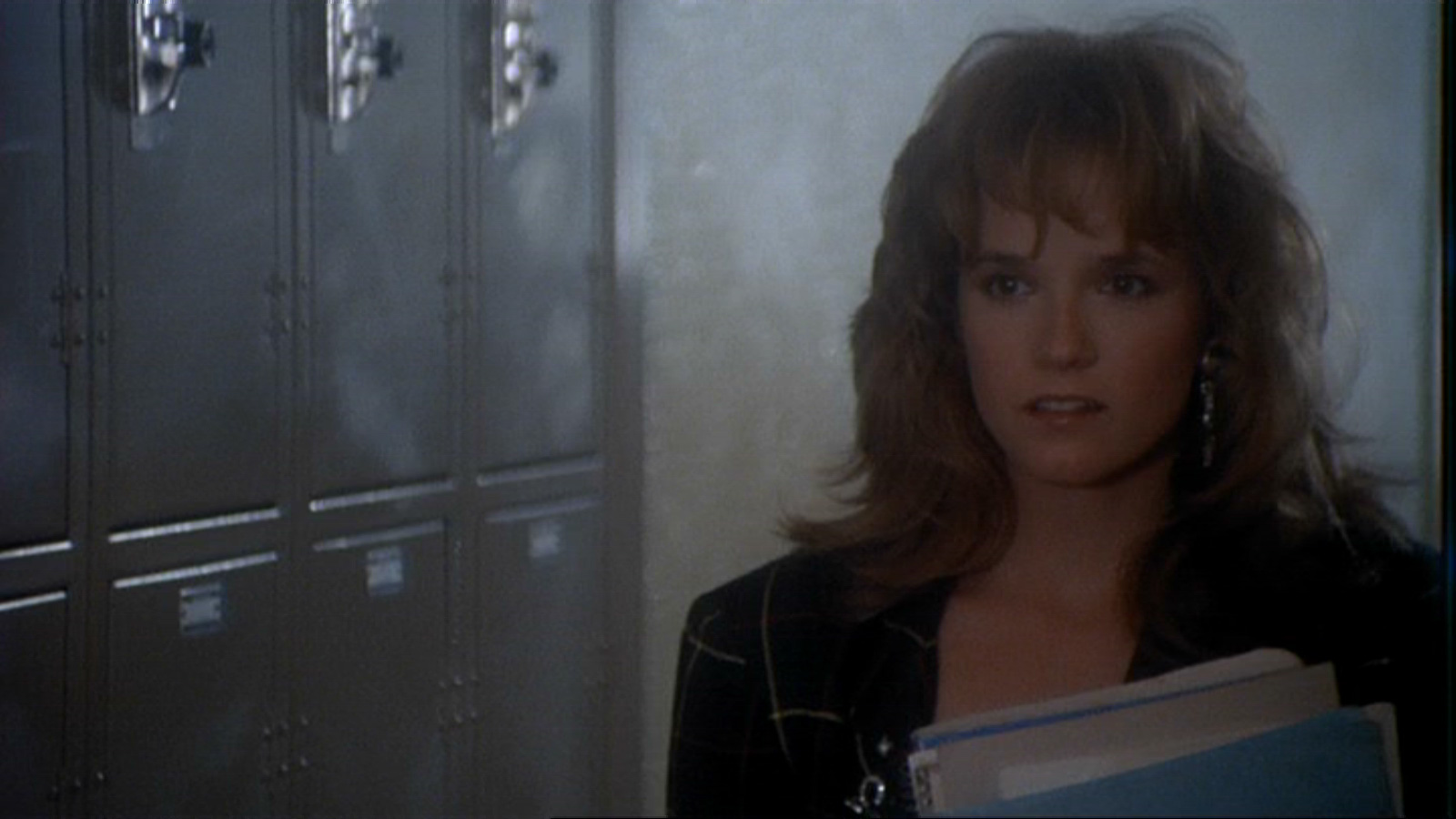 "Lea Thompson Is &Quot;amanda Jones"" The Object Of Keith's Affections"