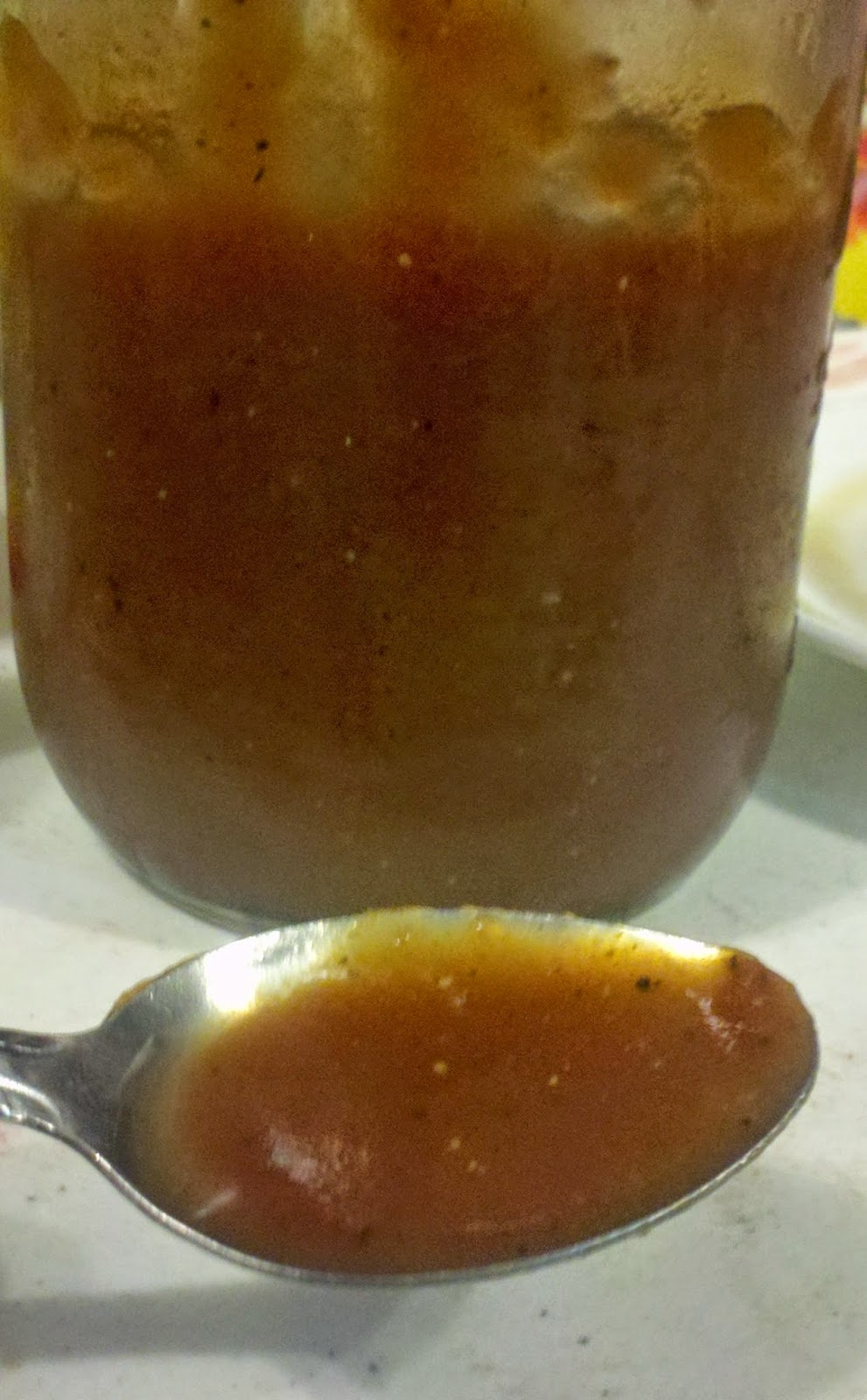 homemade BBQ sauce, tangy barbecue sauce recipe
