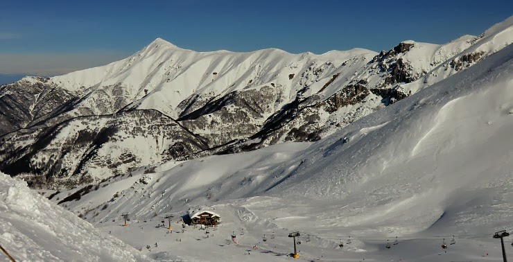 Limone ski resort on Valentines Day 2014