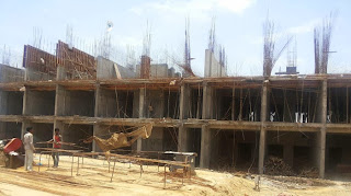 Golf Country, Yamuna Expressway :: Construction Status on July 2014:-Tower C-4 2 BHK 1000 Sq Ft