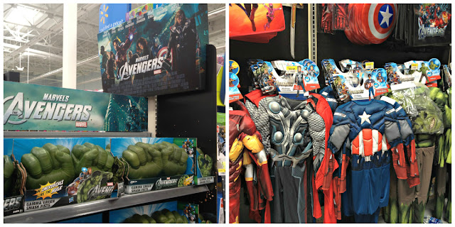 Avengers Toy and Halloween Costume merchandise at Walmart #MarvelAvengersWMT