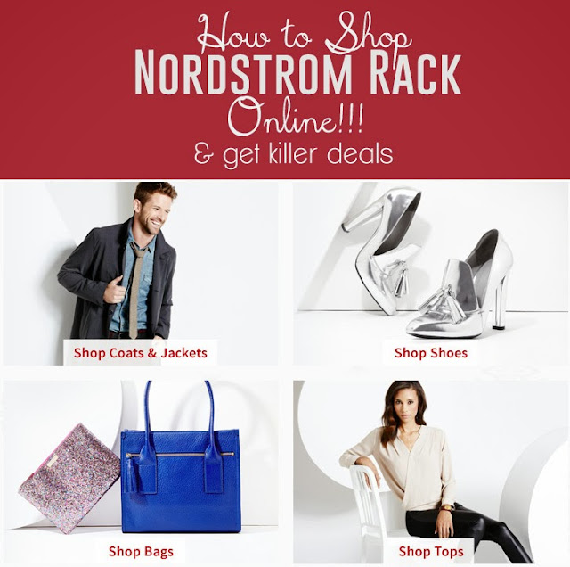 How to shop Nordstrom Rack ONLINE and score some amazing deals! #shopping #fashion #nordstrom #clothes #shoes