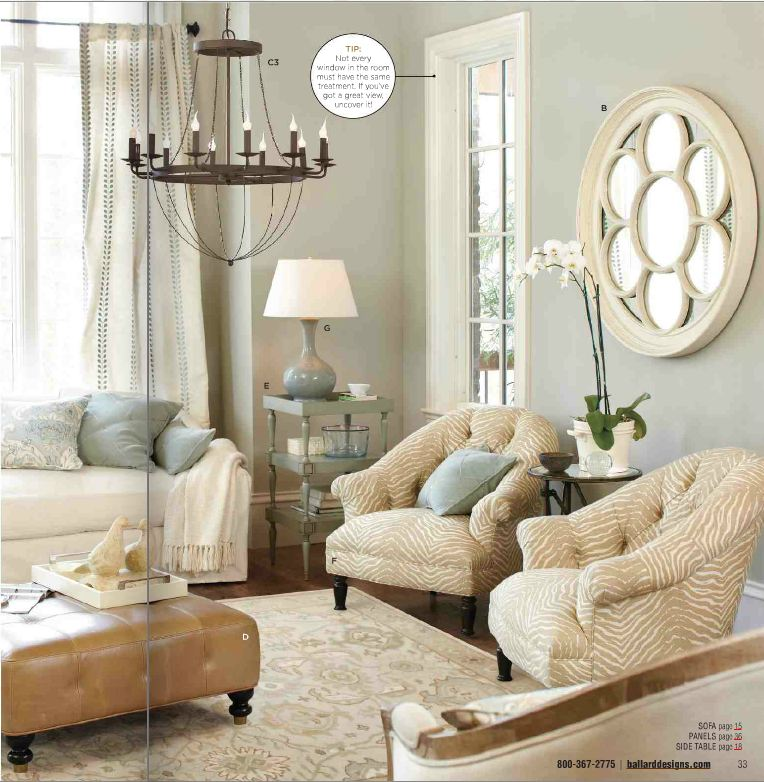 The Room Stylist: Inspiration from Latest Ballard Design Catalog - Ballard Design