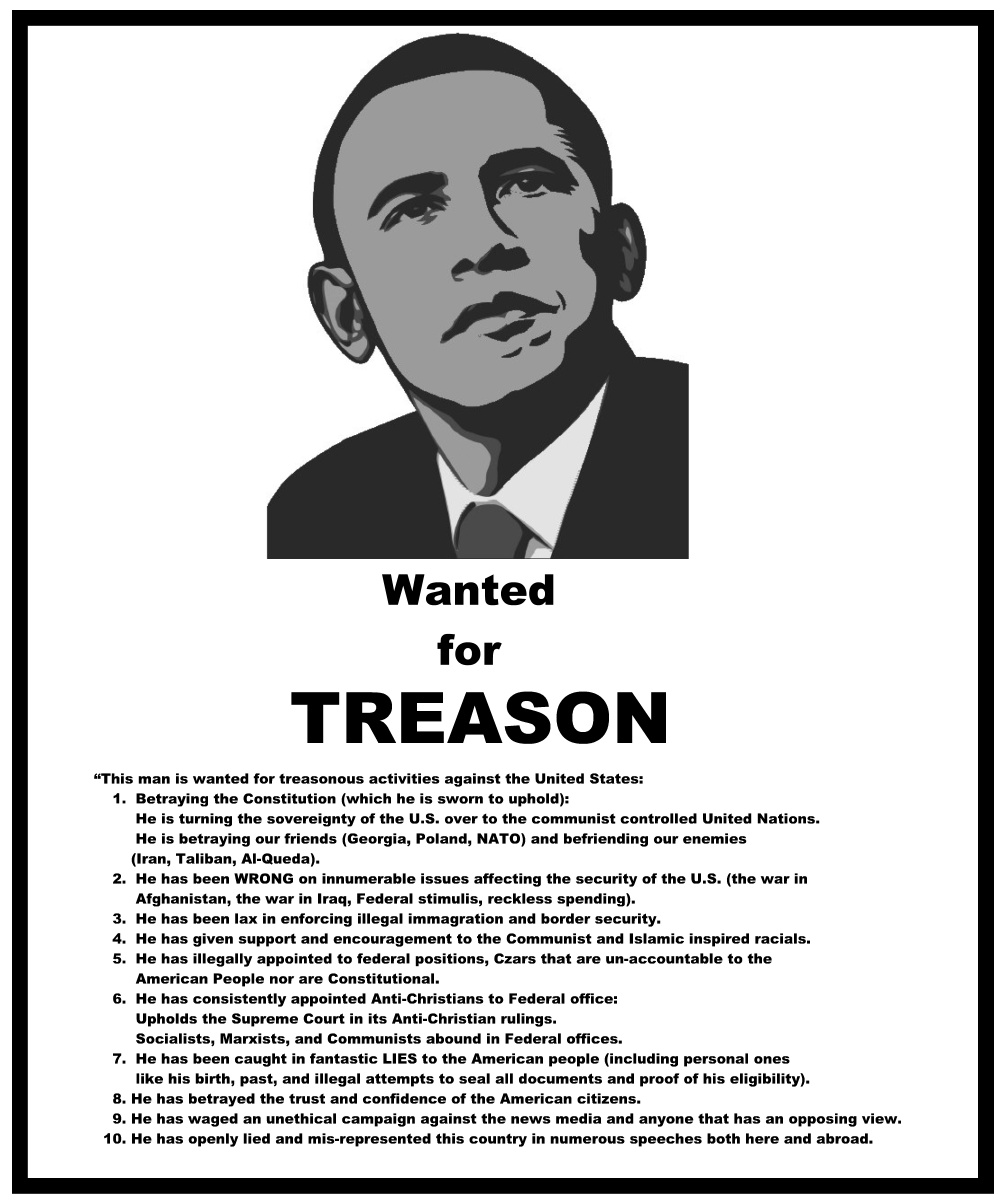 Give Us Liberty: TREASON...OBAMA'S PRIMARY OFFENSE AGAINST ...