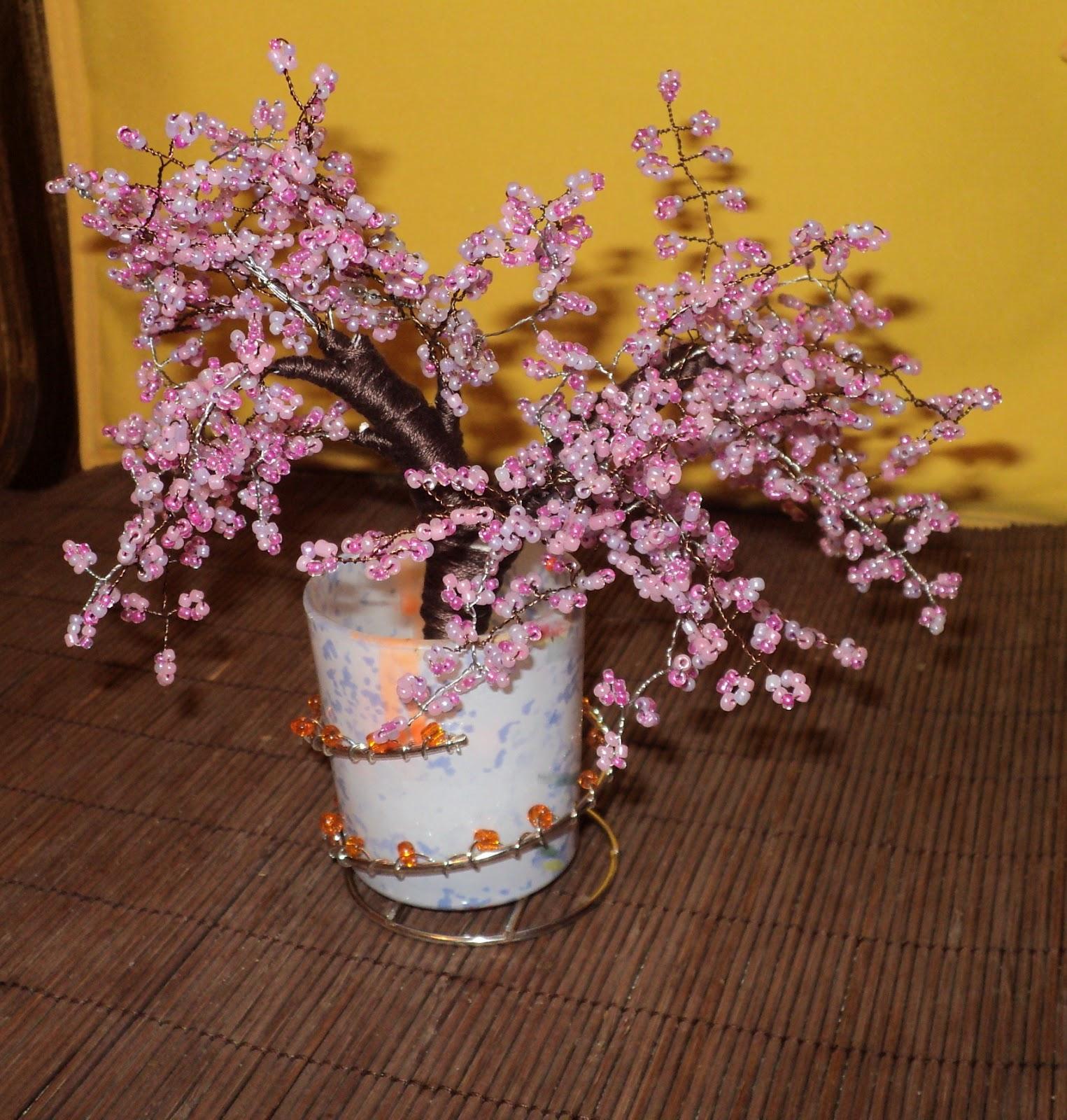 Как сделать цветущее дерево своими руками