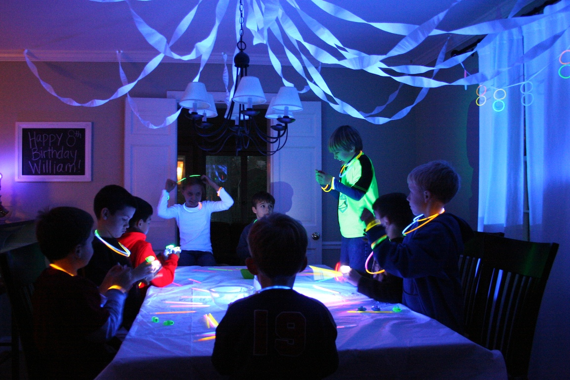 Glow in Dark Party Ideas
