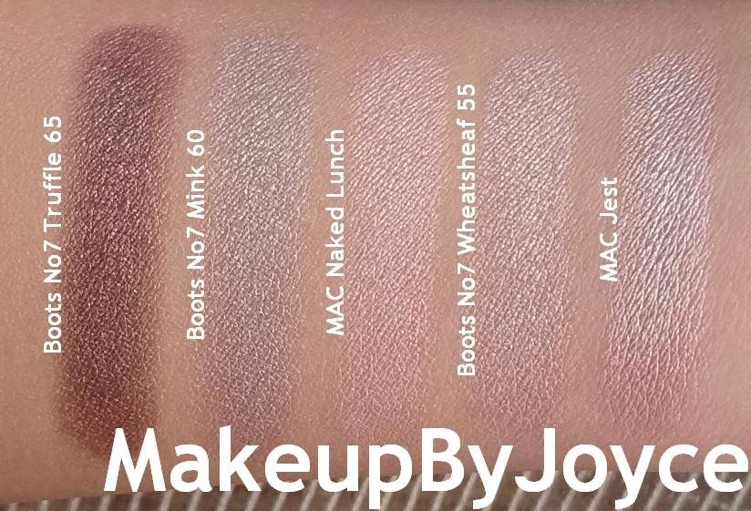 makeupbyjoyce       swatches   review  boots no7 stay
