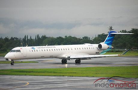 Garuda Indonesia CRJ1000 PK-GRA