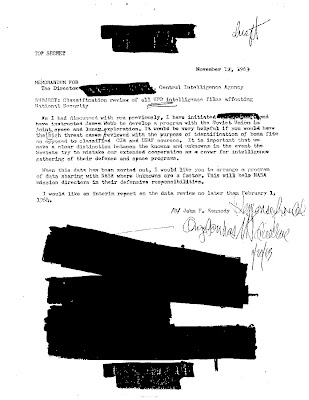 Alleged Kennedy Memo