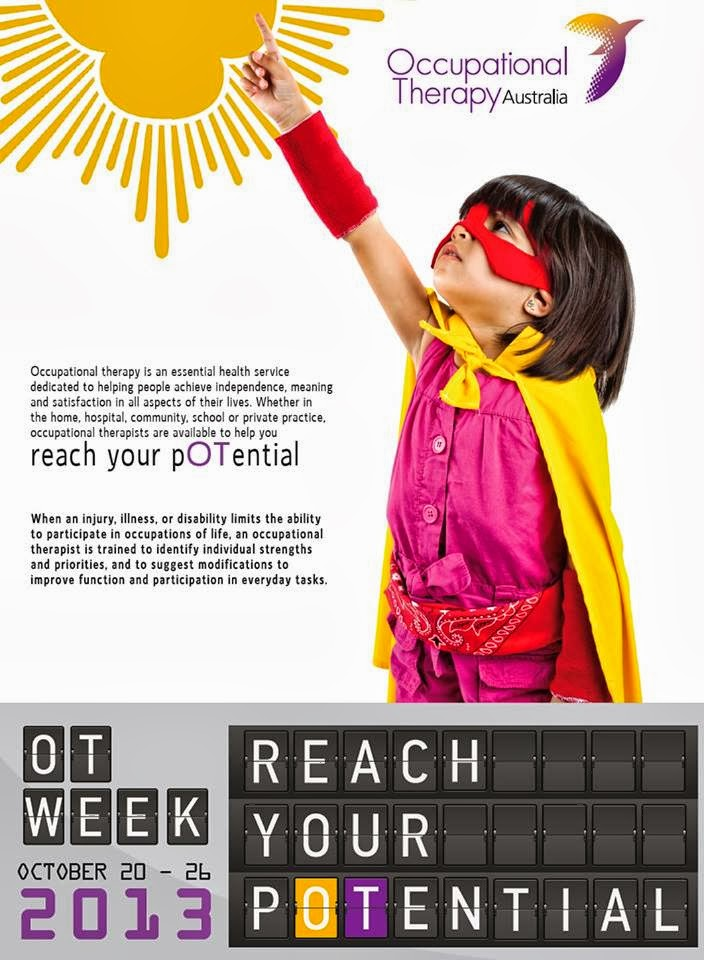 occupational therapist week 2013 | just b.CAUSE