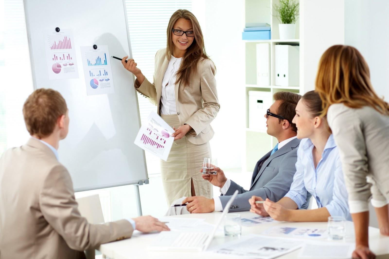 sales representative presentation