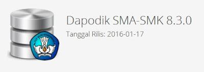 Download Aplikasi Dapodikmen Versi 8.3.0