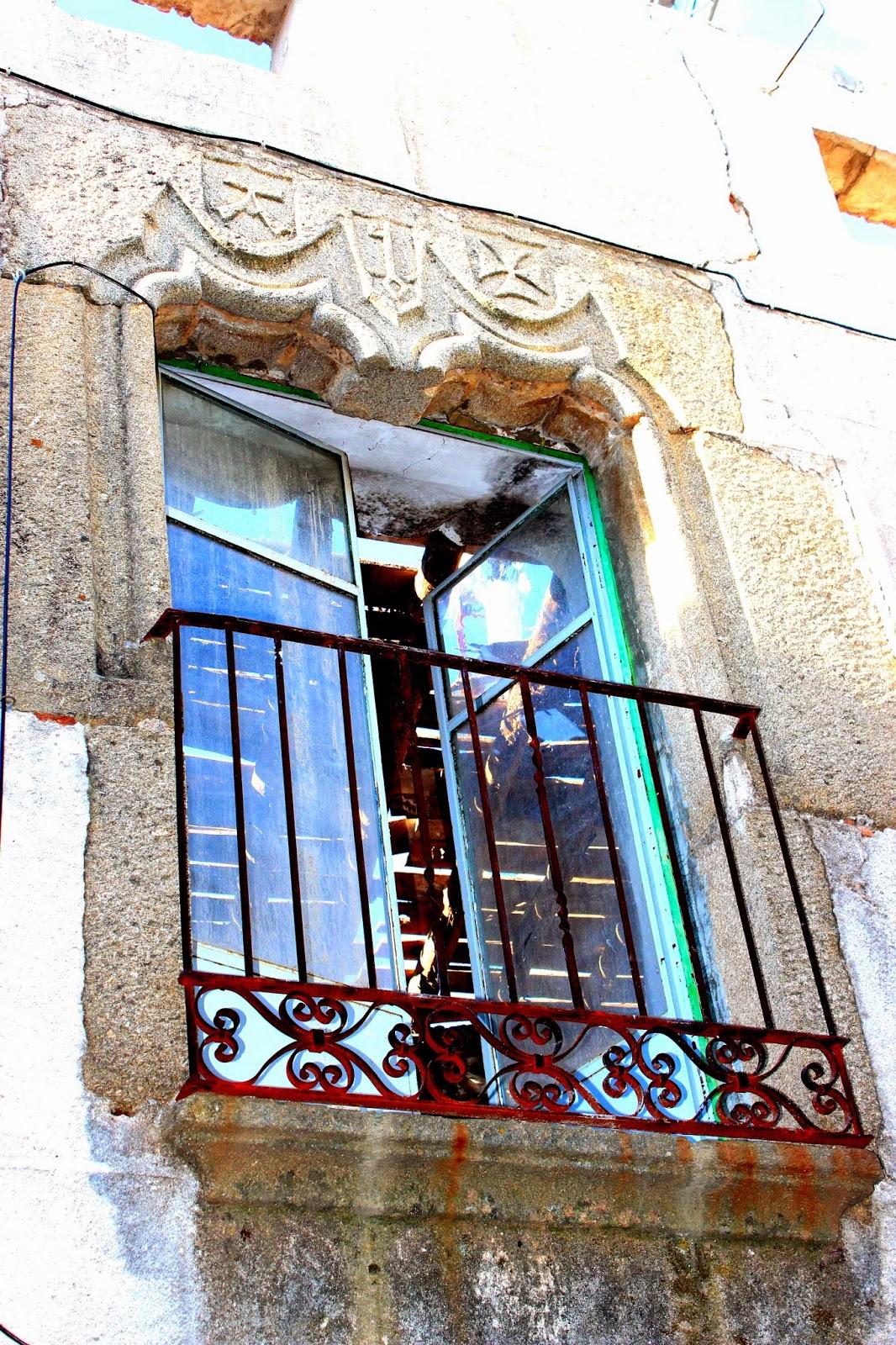 Patrimonio artístico de Hoyos. Balcones renacentistas. Sierra de Gata