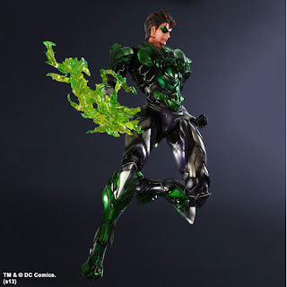 "Square Enix Play Arts Kai DC Comics ""Variant"" Green Lantern Figure"