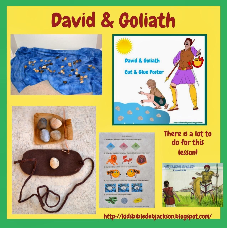 http://kidsbibledebjackson.blogspot.com/2014/02/david-and-goliath.html