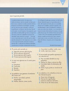 Apoyo Primaria Español 6to Grado Bloque II Evaluación