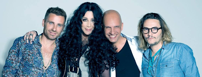 Cher in a photoshoot for 'Closer To The Truth'