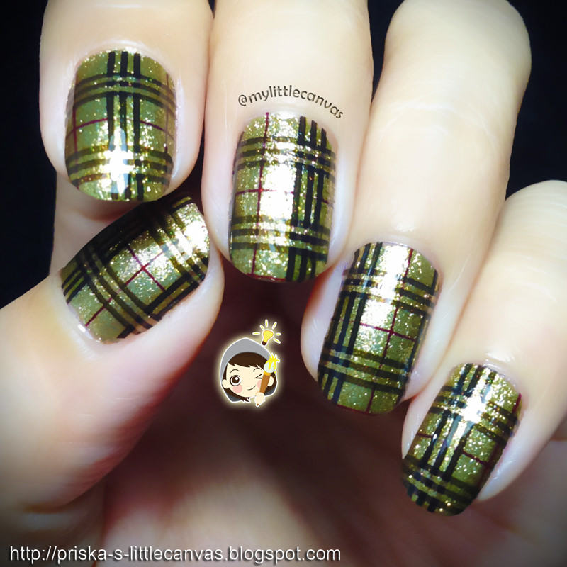 Burberry Nails in Stunning Gold!