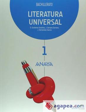 LITERATURA UNIVERSAL DE 1º DE BACHILLERATO