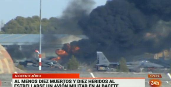 Kecelakaan F-16 Yunani di Spanyol