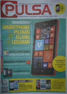 TABLOID PULSA 265 31 JULI 2013 - 20 AGUSTUS 2013 ~ ALL IN 1 UPDATE